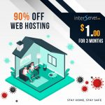 $1 web hosting 90% Off - Stay Home Promotion 2021